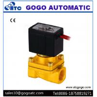 Wholesale Two Way 1/4 Inch Port 2 Way Solenoid Valves High Temperature Wire Lead SMC Type from china suppliers