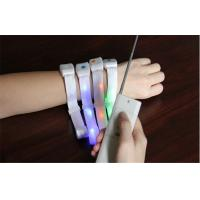 Wholesale Wireless Remote Controlled LED Light Up Bracelet With Battery Inside For Night Party from china suppliers