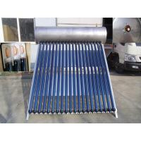 Wholesale Pressurized Heat Pipe Compact Solar Water Heater 180 Liters With 38 Degree from china suppliers