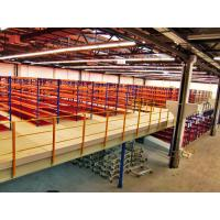 Wholesale Vertical Lifts Platform Floor Systems , Powder Coated Pallet Racking Mezzanine from china suppliers