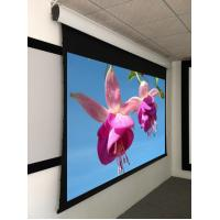Wholesale Home Theatre Tab Tensioned Motorized Screen with 4K Perforated Screen Fabric from china suppliers