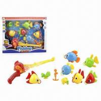 Wholesale 9-piece Fishing Game Toys with 1 Piece Fishing Rod and 8-piece Fishes  from china suppliers