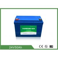 Wholesale 2000 Cycles Life Electric Forklift Battery 24V 50Ah Industrial Forklift Batteries from china suppliers