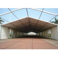 Wholesale Temporary Big Outdoor Warehouse Tents For Storage With Clear Span , Outdoor Storage Tent from china suppliers