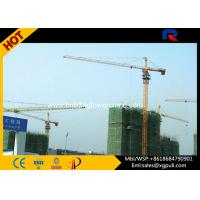Wholesale 10 Ton External Climbing Fixed / Mobile Tower Crane Height 180M VFD Control from china suppliers