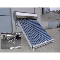 Wholesale Copper Coil Heat Exchanger Solar Water Heater Non Pressurized With Aluminum Alloy Stand from china suppliers