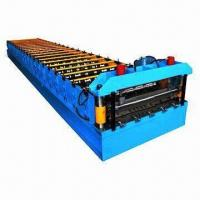 Wholesale Roof panel roll forming machine, can produce nice appearance, strong panels from china suppliers
