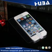 Wholesale OEM / ODM Super Waterproof Tempered Glass Screen Protectors for iphone 5s from china suppliers