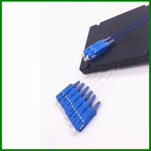 Wholesale OEM SC / UPC SM Fused Splitter Single Mode Fiber Coupler 2*6 For PON Sytem from china suppliers
