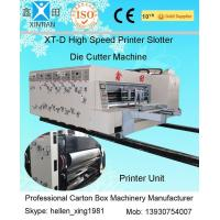 Wholesale Automated Feeding Flexo Printer Slotter Machine High Speed Cutting Machine from china suppliers
