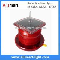 Wholesale 15LED Red Flash Solar Marine Beacon Offshore Lights With Spike Drive Bird Needle Ship Signal Lamp Ocean Sea Solar Light from china suppliers