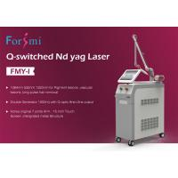 Wholesale CE FDA approved high quality competitive price 1064nm 532nm q switch nd yag laser tattoo eraser for beauty clinic use from china suppliers
