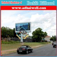 Wholesale 6x3 Flex PVC Outdoor Backlit Advertising Billboard from china suppliers