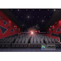 Wholesale 55 Inch Display 60 People 4D Digital Cinema Equipment With Blue Color 4 Motion Seat from china suppliers