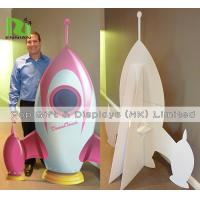 Wholesale Cardboard Standee Display Stand Funny Rocket Shape POS Retail Hanging Display from china suppliers