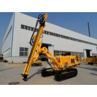 Wholesale Dry Hydraulic Dust Collector Blast Hole Drill Rigs for Blasthole Drilling Civil Engineering from china suppliers