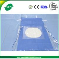 Buy cheap Surgical Craniotomy Drape with One Fenestration Covered With Incise Tape from wholesalers