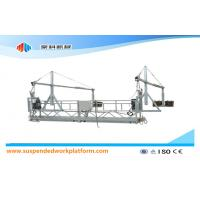 Wholesale 1.8KW * 2 Aluminum Suspended Access Platforms ZLP800 With 8.6mm Steel Wire Rope from china suppliers
