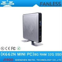 Wholesale Best selling baytrail J1900 aluminium mini linux embedded pc ce fcc rohs certified K662N from china suppliers