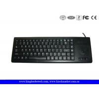 Wholesale 87Keys Plastic Industrial Keyboard With Mini Trackball In US English Layout And USB Interface from china suppliers
