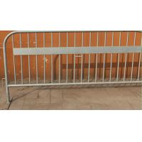 Wholesale Crowd Control Barriers@ 42 Microns Hot Dipped Galvanised Steel Plate Foot Full HDG D Crowd Control Barriers from china suppliers