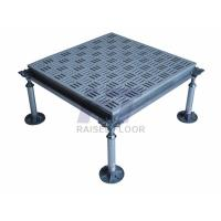 Quality Square HPL Aluminum Raised Floor , Antistatic Removable Flooring for sale