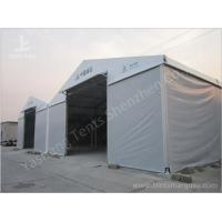 Wholesale Aluminum Frame Industrial Storage Tents , Grey Fabric Temporary Warehouse Tent from china suppliers