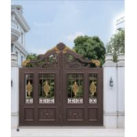 Wholesale Durable Aluminum Sliding Door Main Gate Garden Shade Netting for Courtyard from china suppliers