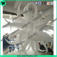 China 2m 210T Polyester Cloth Inflatable Star Decoration Customized on sale
