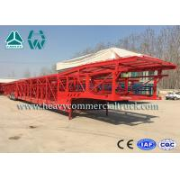 Wholesale Hydraulic System Car Carrier Semi Trailer For Auto Transportation from china suppliers