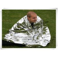 Wholesale Portable First Aid Kits Aluminum Emergency Mylar Blanket Protect Rain To Keep Body Warm from china suppliers