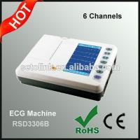Wholesale Electrocardiogram 6-Channel Portable ECG Machine from china suppliers