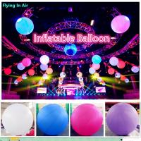 Wholesale Hot Inflatable Led Light Giant Inflatable Ball for Concert and Stage from china suppliers