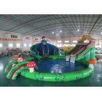 Wholesale Inflatable Zoo Theme Land Water Park , Animals Inflatable Water Park from china suppliers