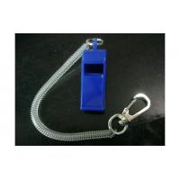 Wholesale Plastic spring key chain with whistle from china suppliers