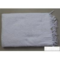 Wholesale Islamic Polyester Custom Hajj Ihram Clothing Fabric With Fringe from china suppliers