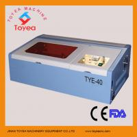 Wholesale Stamp Laser engraving machine with Square linear rail TYE-40 from china suppliers