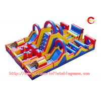 Wholesale PVC Commercial Grade Inflatable Blow Up Obstacle Course For Water Game from china suppliers