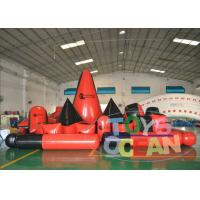 Wholesale Customized Paintball Inflatable Bunkers Quipment For Outdoor Sport Game Red from china suppliers