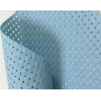 Wholesale light blue color Textilene® Solar Screens & Sun Screen Fabric 8*8 woven mesh fabric from china suppliers