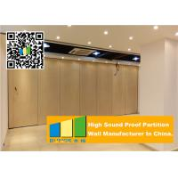 Quality Ceiling Suspended Folding Partition Walls Sound Absorbing For Seminars Room for sale