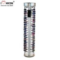 Wholesale Rotating Eyewear Store Sunglasses Display Racks With Wood Base Metal Rod from china suppliers
