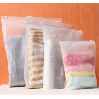 Wholesale Transparent PVC Plastic Zipper Slider Packaging Bag for Underwear from china suppliers