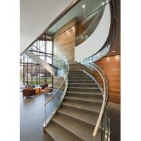Wholesale Aluminum glass railing system for staircase from china suppliers