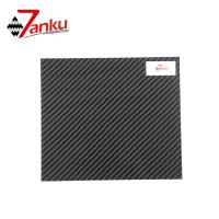 Wholesale Standard stock products,500*600mm 2mm Thickness 3K 100% Carbon Fiber Plate from china suppliers