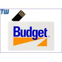 Wholesale 180 Degree Twisting Spin Credit Card Style USB Flash Memory Full Protection from china suppliers