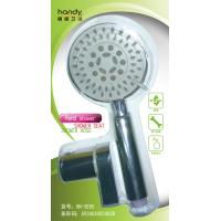 Wholesale ABS Five Functions Shower Faucet Accessories , Chrome Plated Hand Shower with Hose / Bracket from china suppliers