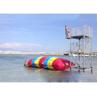 Wholesale Inflatable Water Pillow , Inflatable Rainbow Water Blob For Water Sports from china suppliers