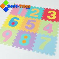 Wholesale Eco-friendly 123 number Mat 10pcs/set from china suppliers