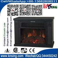 Wholesale log burning flame electric fires stoves EF480 MINI TABLE climat chimenea Heater Slogger desktop fireplace heater black from china suppliers